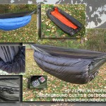 Zero degree hammock insulation backpacking quilt
