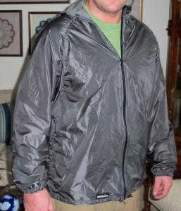 pertex rain shell