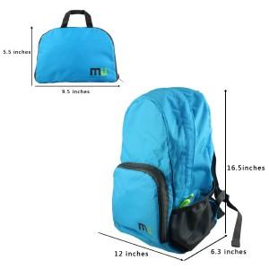 MIU color foldable backpack